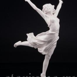 Статуэтка из фарфора Танцующая девушка, Hutschenreuther, Германия, 1938-64 гг.
